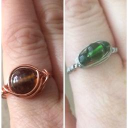 interesting art rings wirejewelry wire freetoedit