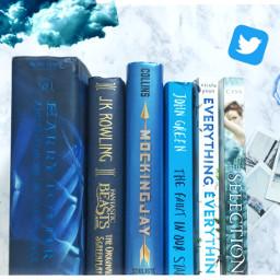 freetoedit blue books everythingeverything theselection