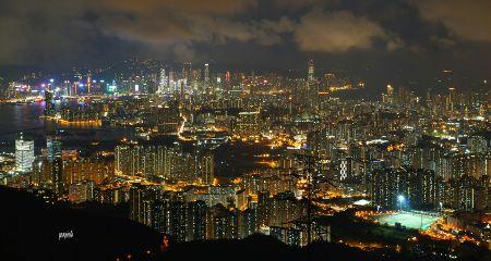 cityview citynight landscape photography hongkong