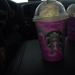 awesome starbucks unicornfrappucino unicorns gotrythisnow freetoedit