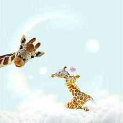 freetoedit giraffe love emmawatson earthday