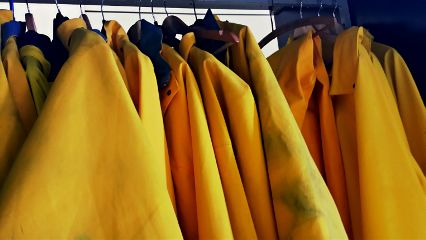 freetoedit yellow raincoats raincoat regenmantel