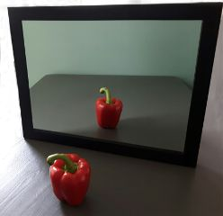 minimalism mirror pepper red whatisee dpcmirrors freetoedit