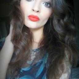 me girl lips hair eyes freetoedit