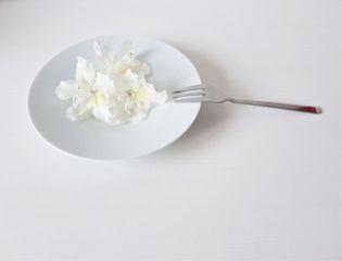 myphoto freetoedit plate fork flowers