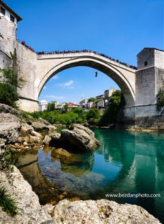 adventure travel mostar river water freetoedit