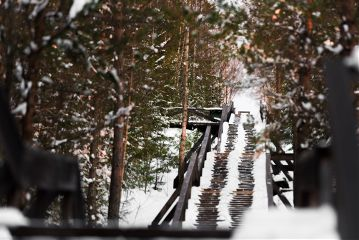 freetoedit travel snow stairs nature
