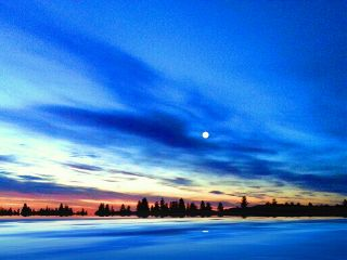 freetoedit sunrise prettyclouds country moon