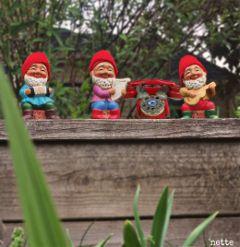 dpcphone myoriginalphoto vintage toyphone gnomes