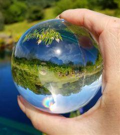 pondlife ponds glassball pond water freetoedit