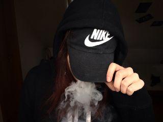 smoke nike hand girl vape freetoedit