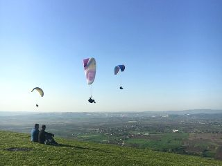 freetoedit sky sport paragliding people