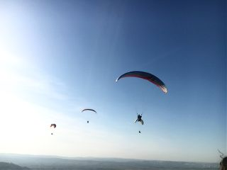 freetoedit sky paragliding sport people