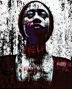 helpmeplease zombieart horrorinspired picsart darkart freetoedit
