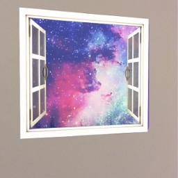 galaxywindow freetoedit galaxy window