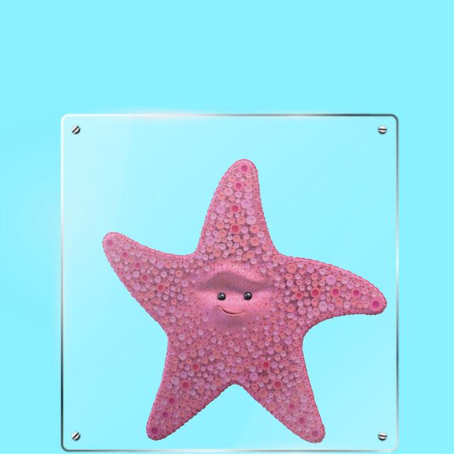 #FreeToEdit #peach #findingnemo #star #pink