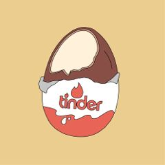 egg tinder art interesting doodle freetoedit