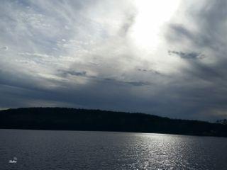 freetoedit lake shimmer lightreflection sunset