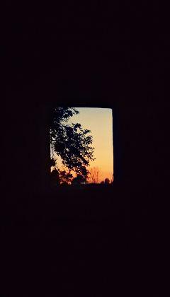 freetoedit photography contrast sunset window