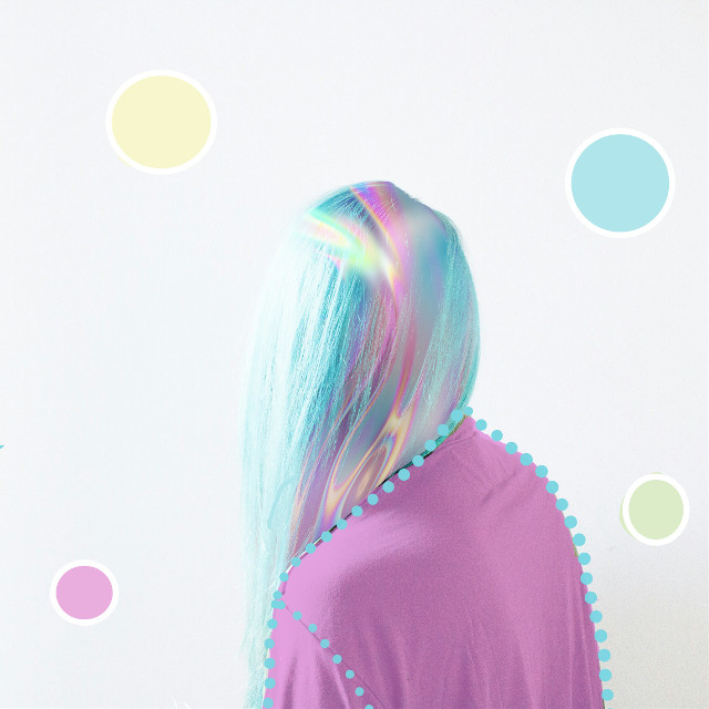 #FreeToEdit  #holographicbackgrounds #opalescent #hair #colorcode