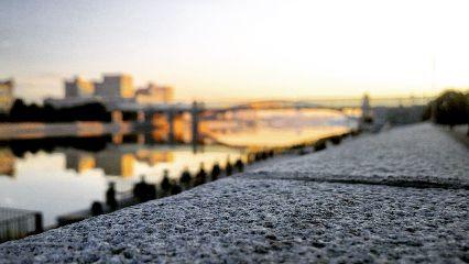 moscow sunrise bridge travel
