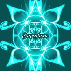 shazahom1 abstract coolart neon mirrorart