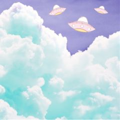 freetoedit ufo clouds backgrounds stickers